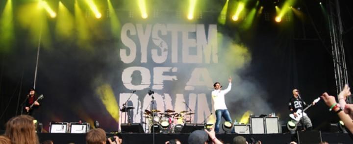 System of a Down kruunasi Provinssirockin