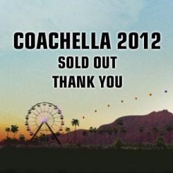 Coachella loppuunmyyty