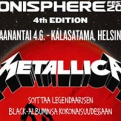 """Metallica soittaa """"Metallica""""-levyn läpi Sonispheren pääesiintyjänä Kalasatamassa"""