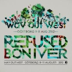 Way Out Westin ensimmäiset kiinnitykset Refused ja Bon Iver