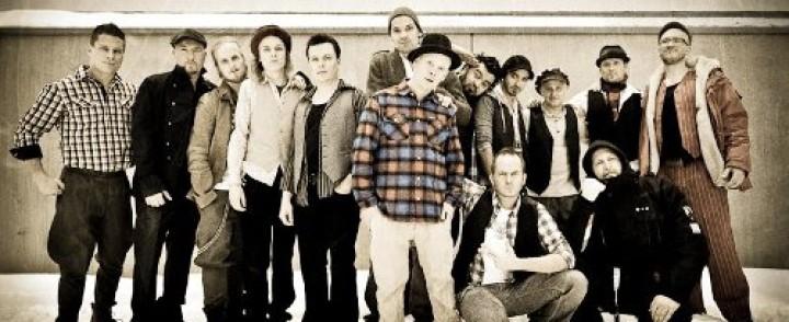 """Suomi-räpin """"superbändi"""" GG Caravan juhlii karkauspäivänä The Circuksessa"""