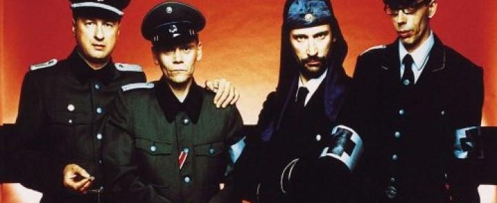Iron Sky -leffaan musiikin tehnyt Laibach saapuu Suomeen