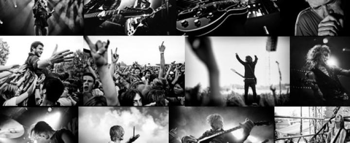 Gloriassa avataan tänään Live N' Loud – Rock valokuvina -näyttely