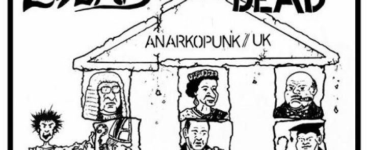 Brittiläiset anarkopunkin veteraanit minirundille Suomeen