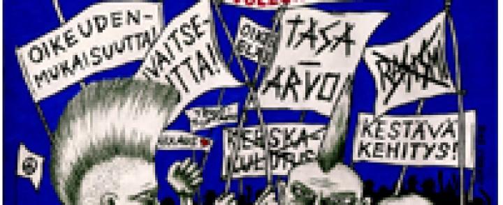 Punk Lurex : Puolesta ja Vastaan – Naivistisen söpöä nyrkin puintaa ihmisyyden barrikaadeilla