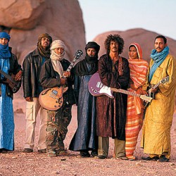 Yksi maailmanmusiikin huipuista Tinariwen Korjaamolle marraskuussa