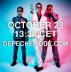 Depeche Mode kertoo parin tunnin päästä uudesta levystään kotisivujensa kautta streamattavassa tilaisuudessas