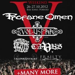 Porvoo Heavy Metal Weekendin ohjelma valmis