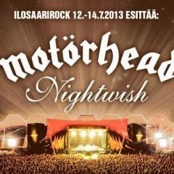 Ilosaarirock avaa bändijulkistuksensa Motörheadillä ja Nightwishillä