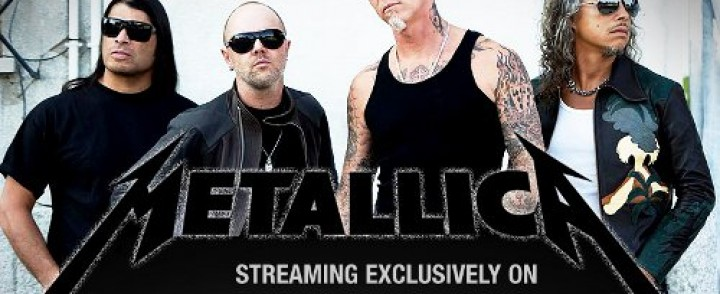 Metallica lähti Spotifyn kelkkaan