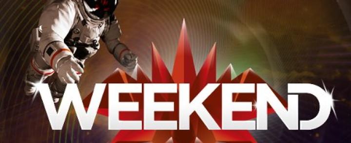 Calvin Harris tähdittää Weekendin perjantaita
