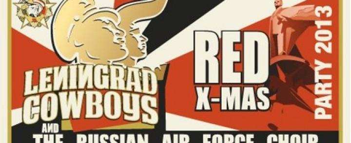 Leningrad Cowboys palaa Puna-armeijatunnelmiin, nyt ilmavoimien kanssa