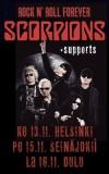 Scorpions senkun jatkaa rundaamista, nyt tulossa kolme Suomen-keikkaa