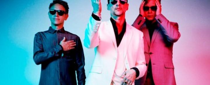Depeche Mode saapuu Suomeen