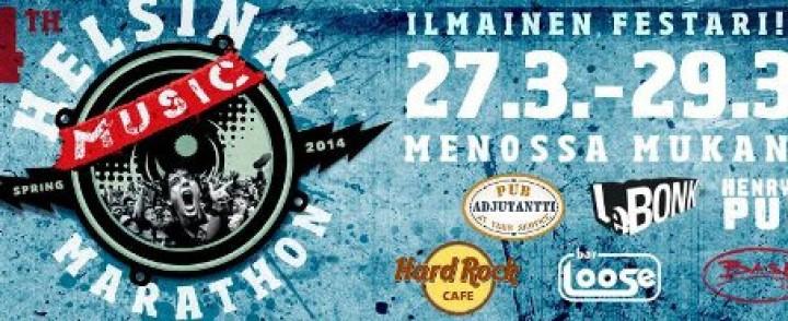 Neljäs Helsinki Music Marathon tarjoaa ensi kertaa myös ulkomaisia akteja