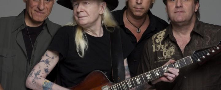 Legendaarinen bluesroku Johnny Winter saapuu Tampereelle