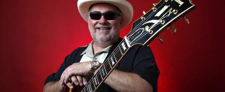 Blueskitaristi Buke Robillard saapuu Tampereelle