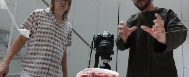 Jori Hulkkonen ja Jimi Tenor tekivät scifi-elokuvan, live-ensiesitys Night Visionsissä