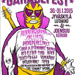 Kerubi ja Lutakko järjestävät yhdessä Garagefestin – samat bändit vuoropäivin Joensuussa ja Jyväskylässä