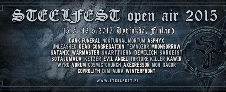 Mitäs mitäs, Steelfest tarjoaa tänäkin vuonna hevareille herkkuja