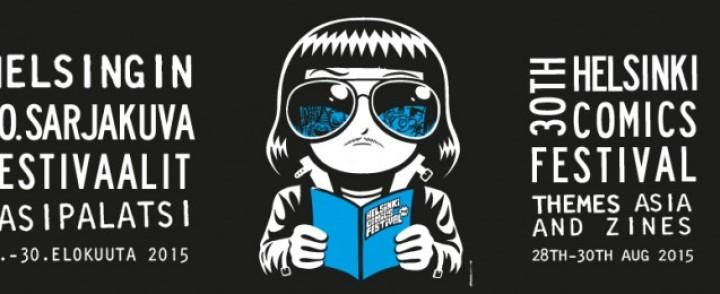 Helsingin 30. sarjakuvafestivaalit juhlistaa pienlehtiä ja aasialaista sarjakuvaa
