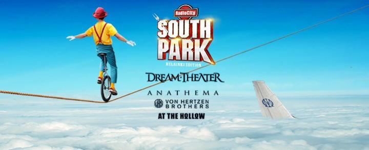 South Park laajentaa pääkaupunkiseudulle, Dream Theater ja Anathema Helsingin Jäähalliin