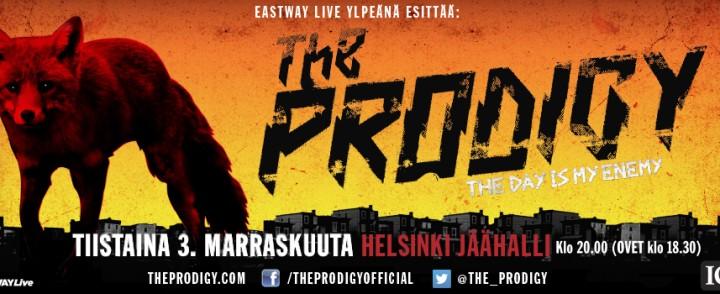 The Prodigy saapuu Jäähallille