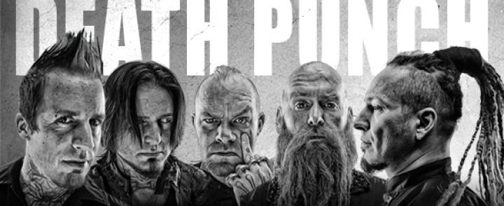 Five Finger Death Punch pikaisesti uudelleen Suomeen, nyt omalle Jäähallikeikalle