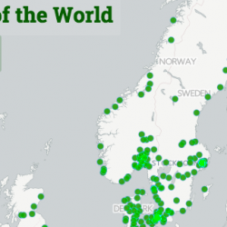 Spotify lanseerasi maailmankartan