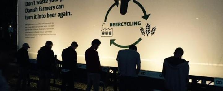 Roskildessa kusikin kiertää takaisin kaljahanaan