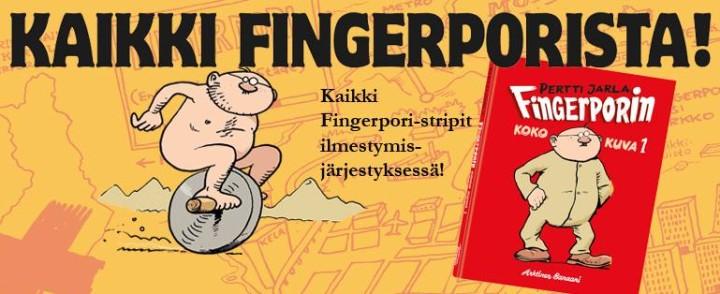 Kaikki Fingerporit kootaan yhteen kirjasarjaan – julkaisujärjestyksessä