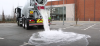 Hämmentävää asfalttia, joka imee vettä