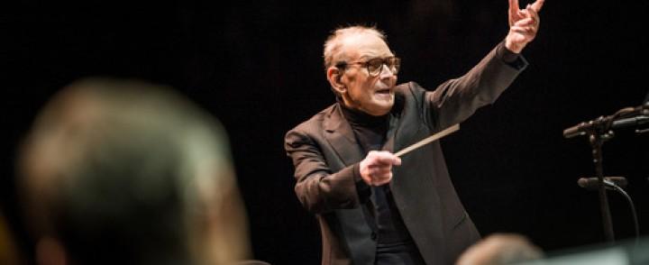 Elokuvamusiikin säveltäjänero Ennio Morricone saapuu Hartwall Arenalle