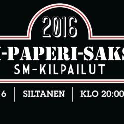 No nyt on kovat SM-kisat – kivi-paperi-sakset -mestari hakusessa huhtikuussa