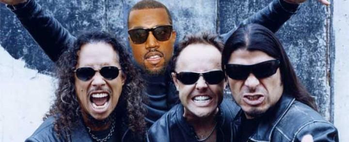 Metallica julkaisi yllättäen yhteislevyn Kanye Westin kanssa
