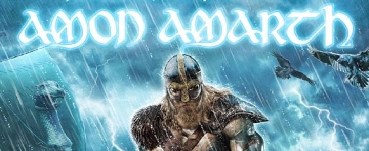 Amon Amarth saapuu Helsingin Jäähalliin