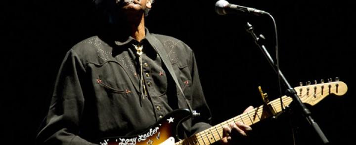 Swamp blues -legenda Lazy Lester Suomeen heinäkuussa Suomeen