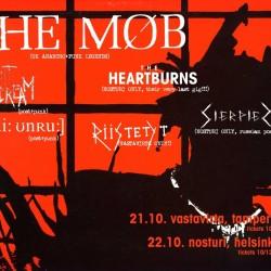 Anarko-punk-bändi The Mob saapuu nyt toistamiseen Suomeen