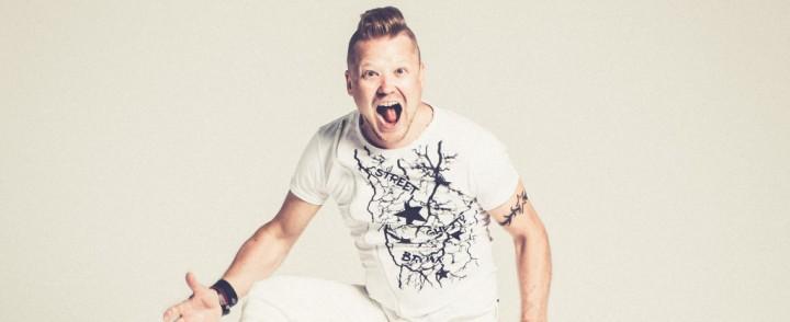 Tomi Salesvuo – Uusi albumi on rytminen ilotulitus