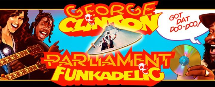 George Clinton saapuu Parliament Funkadelicin kanssa The Circukseen