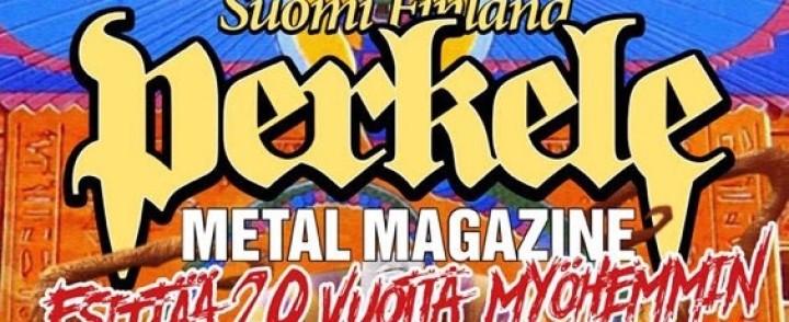 Suomi Finland Perkele kuratoi Tuskan kolmoslavan