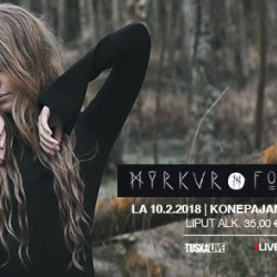 Tanskalainen yhden hengen tunnelmoiva black metal -projekti Myrkur saapuu keikalle Konepajan Brunoon