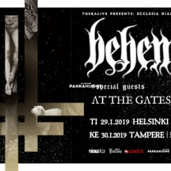 Behemoth saapuu Suomeen, lämppäreinä At the Gates ja Wolves in the Throne Room