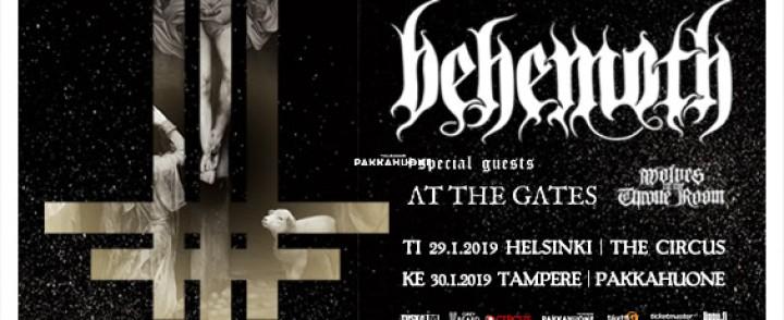 Behemoth saapuu Suomeen, lämppäreinä At the Gates ja Wolves in the Throne Room