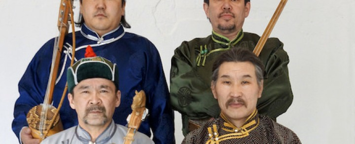 Siperialainen etno-yhtye Huun-Huur-Tu saapuu Savoyhin