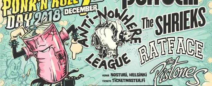 """Joulukuussa """"punk n rollataan"""" ensi kertaa mm. Anti-Nowhere Leaguen tahtiin"""