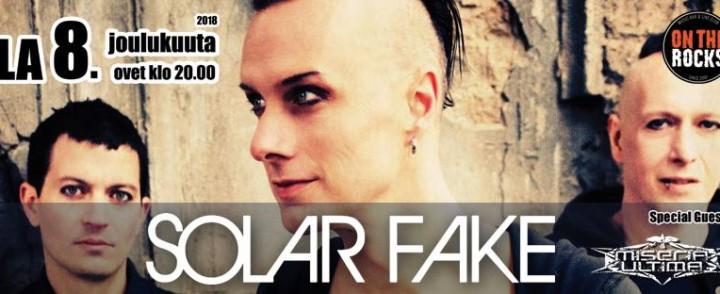 Dark electro -duo Solar Fake kolmatta kertaa Suomeen, tarjolla myös spessua ennen keikkaa
