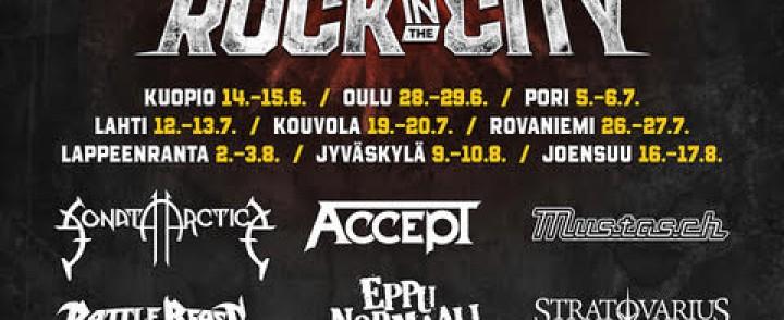 Uusi rockfestari kiertää yhdeksän Suomen kaupunkia ensi kesänä