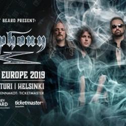 Progehevari Symphony X toukokuussa Helsinkiin