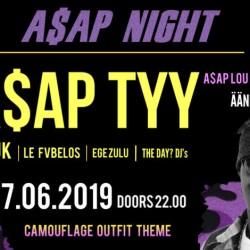 A$AP Night Ääniwallissa